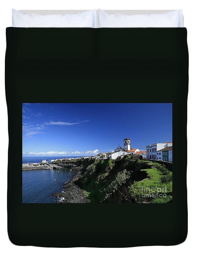 Azores Duvet Cover featuring the photograph Rabo De Peixe by Gaspar Avila