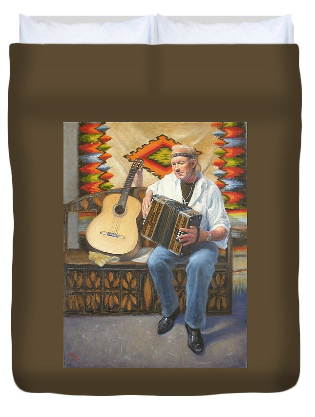 Realism Duvet Cover featuring the painting Rainbow Sky by Donelli DiMaria