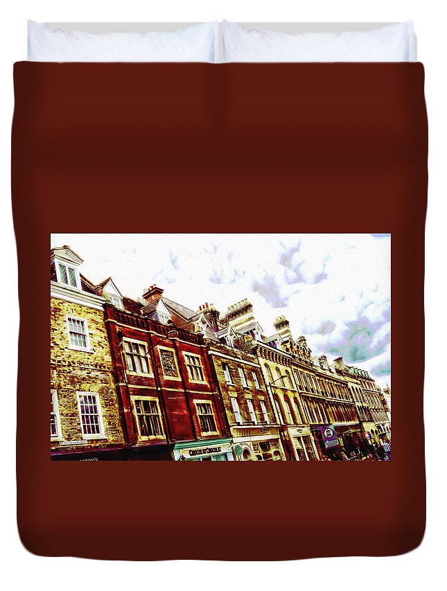 House Duvet Cover featuring the digital art Ramp Up by Lyriel Lyra