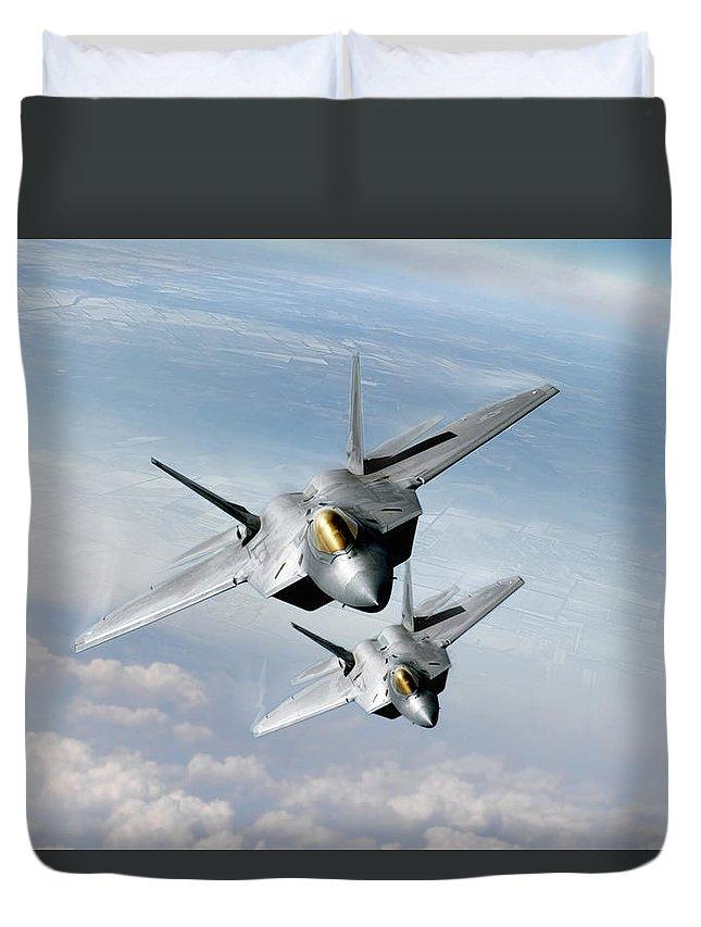 F-22 Duvet Covers