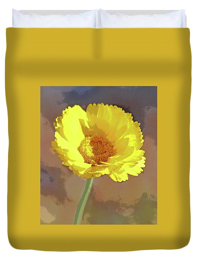 Image Duvet Cover featuring the photograph Reaching For The Sun by Christina Boggs