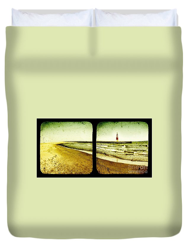 Ttv Duvet Cover featuring the photograph Reaching For Your Hand by Dana DiPasquale