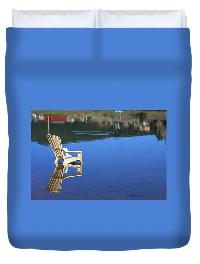 Water Duvet Cover featuring the photograph Reflections Fine Art Photography Print by James BO Insogna