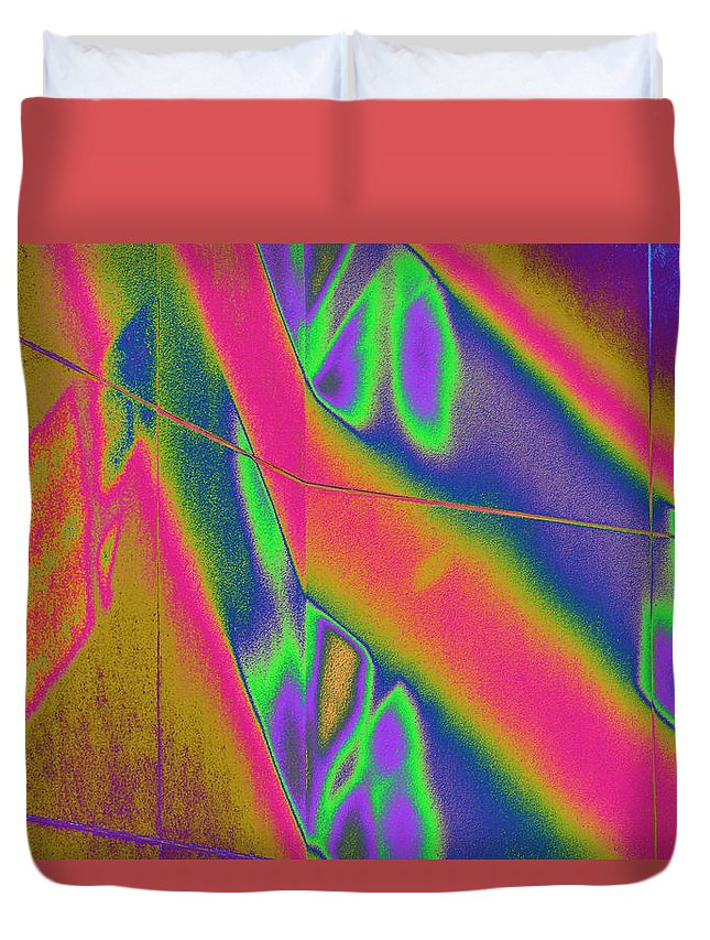 Reflection Duvet Cover featuring the photograph Reflections of a Different Color by Richard Henne