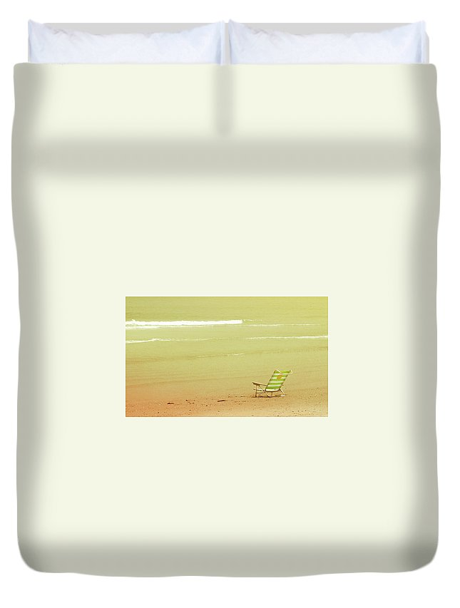 Beach Duvet Cover featuring the photograph Relax by JAMART Photography