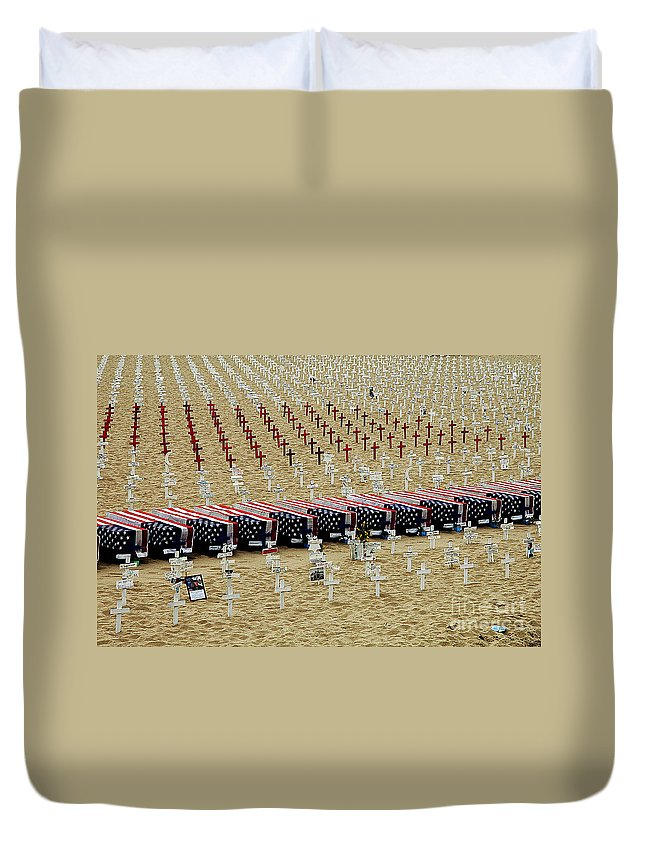 Clay Duvet Cover featuring the photograph Remembering by Clayton Bruster