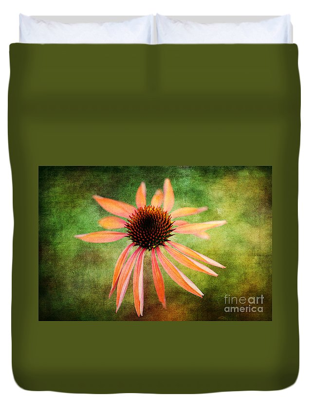 Flowers Duvet Cover featuring the photograph Remembering Summer by Lois Bryan
