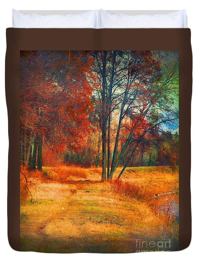 Trees Duvet Cover featuring the photograph Remembering The Places I Have Been by Tara Turner