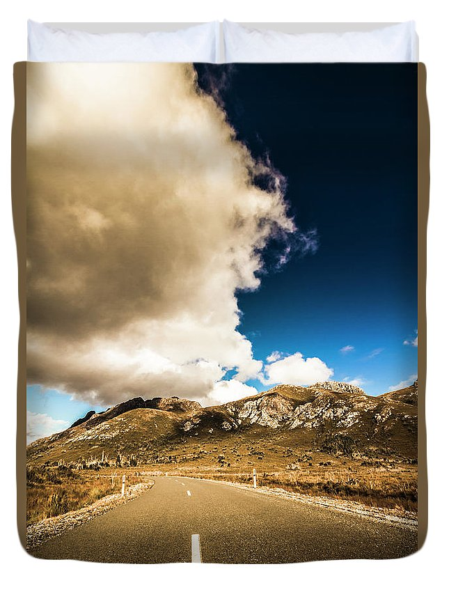 Remote Photographs Duvet Covers