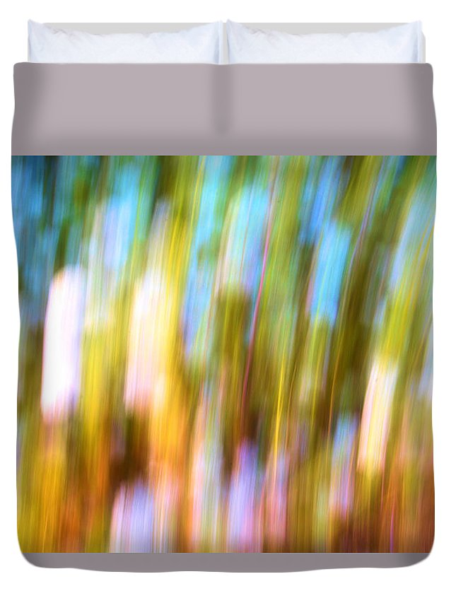 Repetition Duvet Cover featuring the photograph Repetition by Josephine Buschman