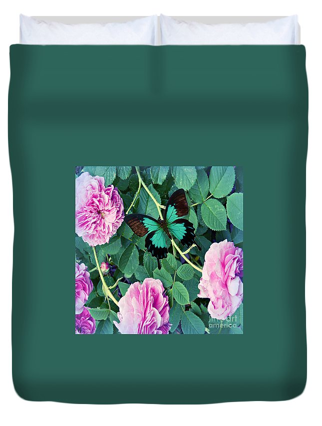Anne Alfaro Duvet Cover featuring the photograph Resting Place by Anne Alfaro