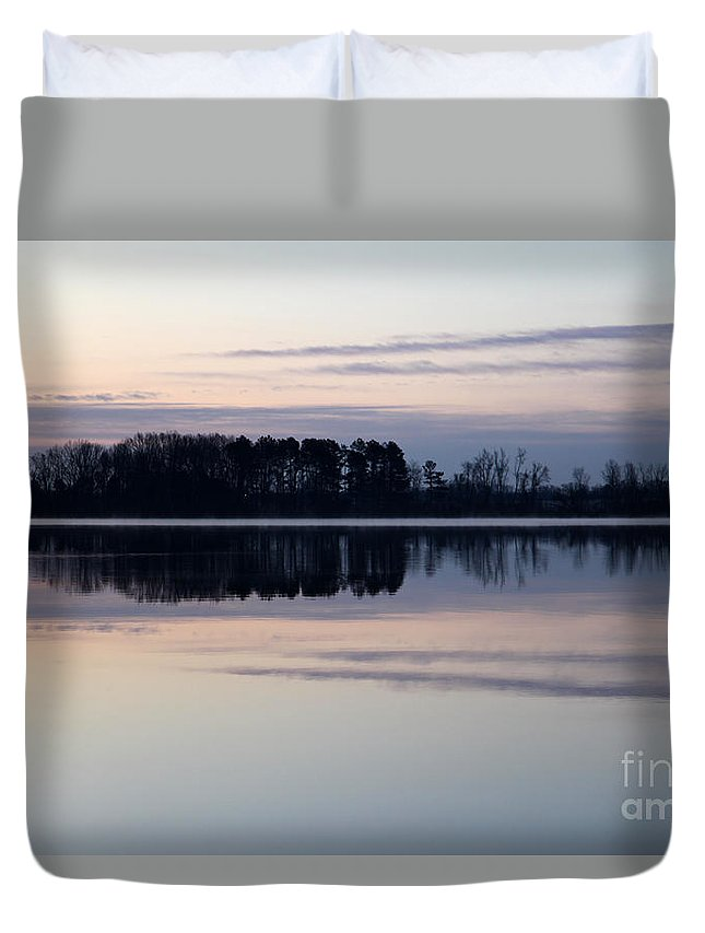 Restless Mourning Duvet Cover featuring the photograph Restless Mourning by Amanda Barcon