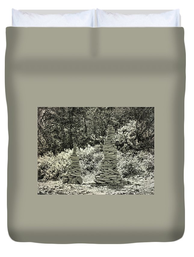 River Duvet Cover featuring the photograph River Art by JAMART Photography