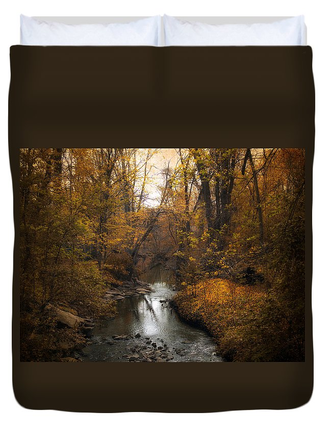 Seasons Duvet Cover featuring the photograph River Views by Jessica Jenney