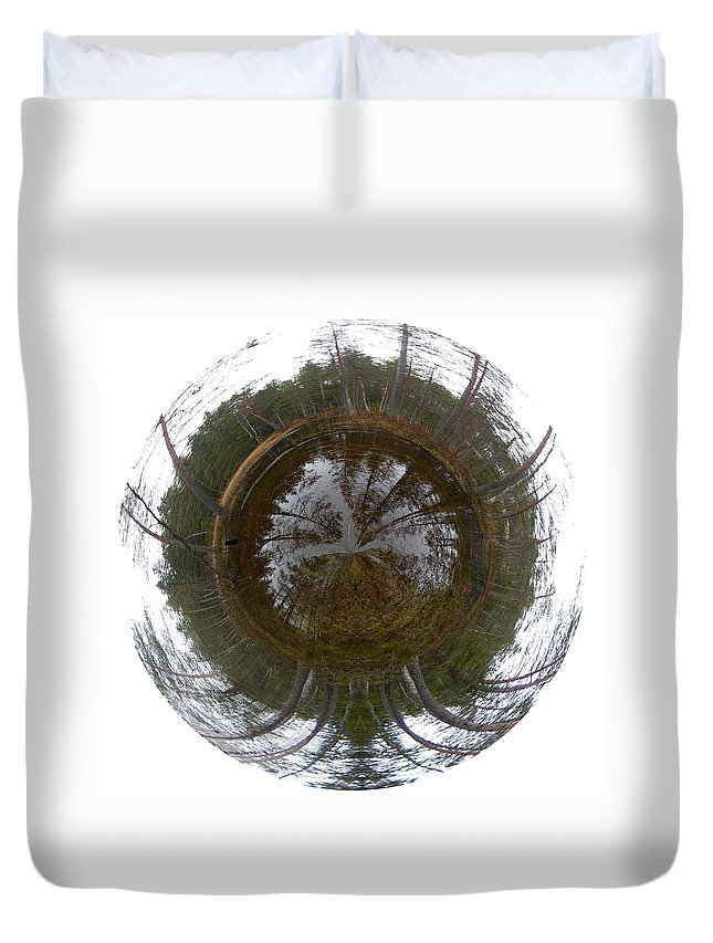 Lehtokukka Duvet Cover featuring the photograph Roll On by Jouko Lehto