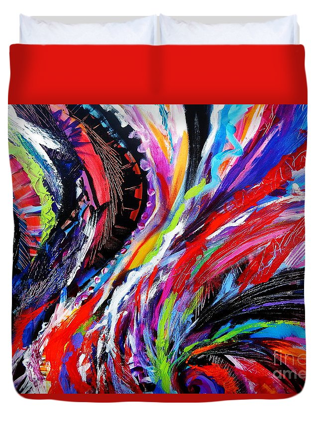 Rolling Detail Twelve Duvet Cover For Sale By