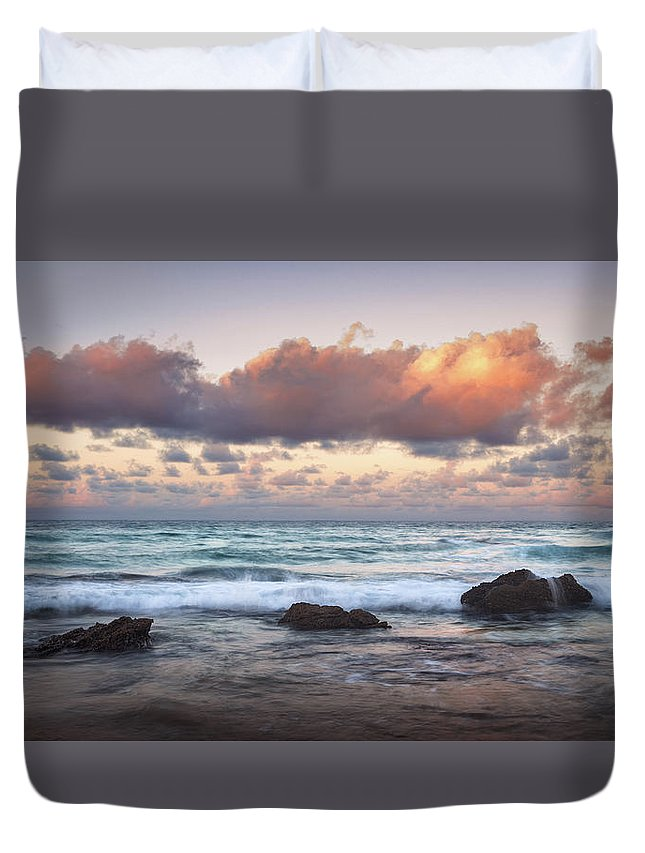 Barbados Duvet Cover featuring the photograph Romanticism by Andre Donawa