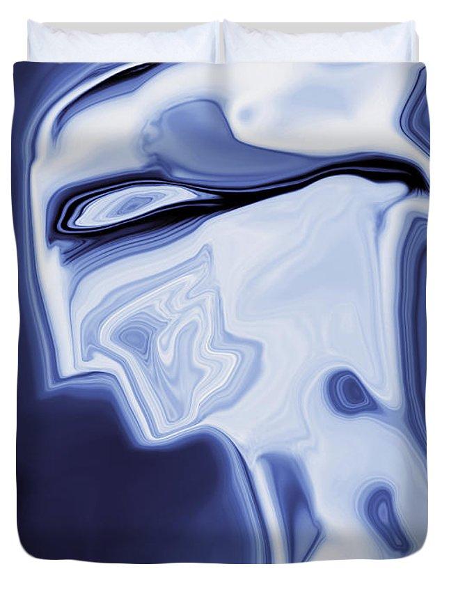 Art Duvet Cover featuring the digital art Romeo by Rabi Khan