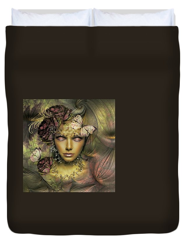 Rose Duvet Cover featuring the photograph The Rose #2 by G Berry