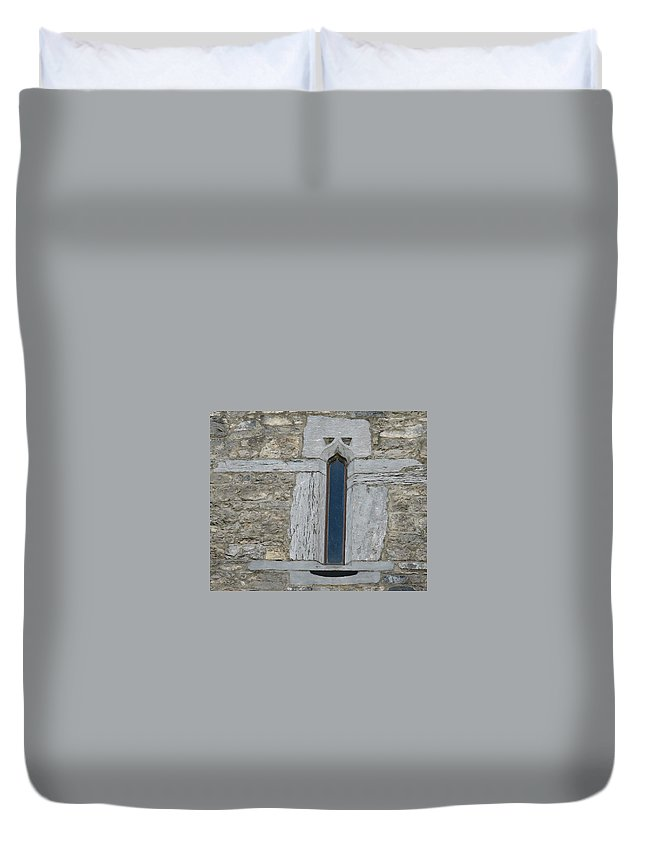 Ross Castle Duvet Cover featuring the photograph Ross Castle by Kelly Mezzapelle