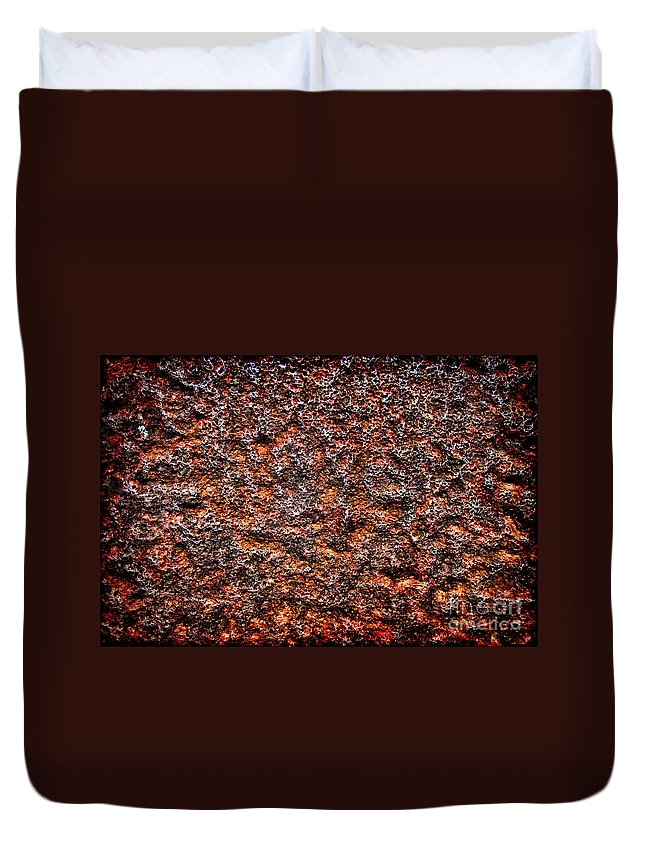Grunge Duvet Cover featuring the photograph Roughness by Olivier Le Queinec