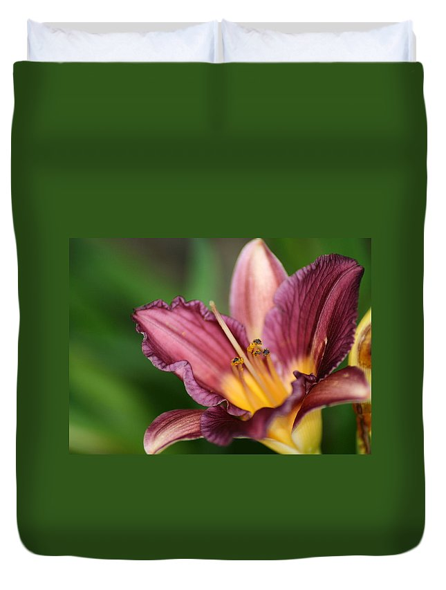 Floral Duvet Cover featuring the photograph Royalty by Marla McFall