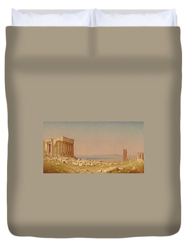 Acropolis Of Athens Duvet Covers