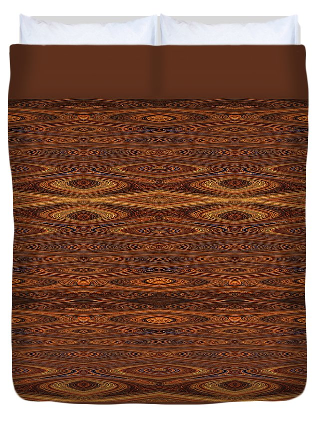 Rust Duvet Cover featuring the photograph Rust Tiled by Sue Duda