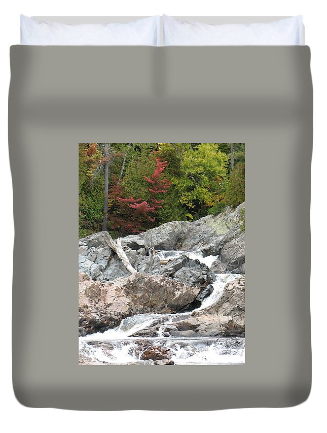 River Duvet Cover featuring the photograph S Curve by Kelly Mezzapelle