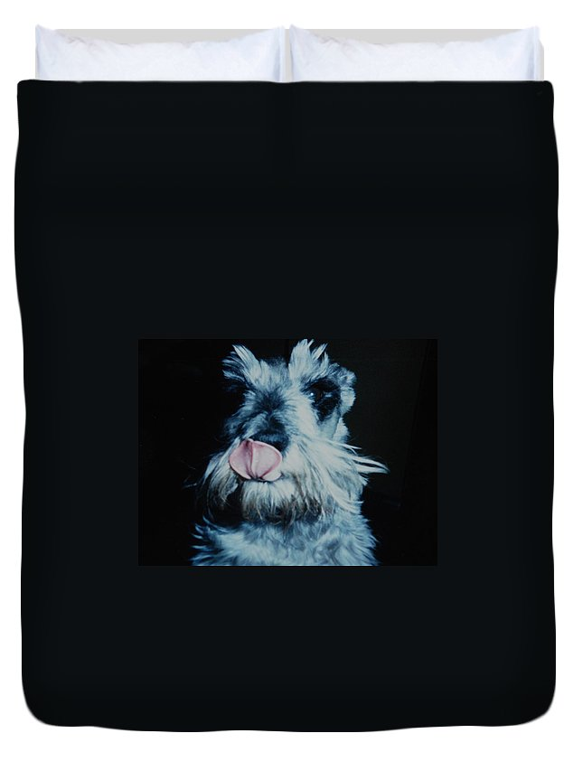 Dogs Duvet Cover featuring the photograph Sam The Fat Cow by Rob Hans