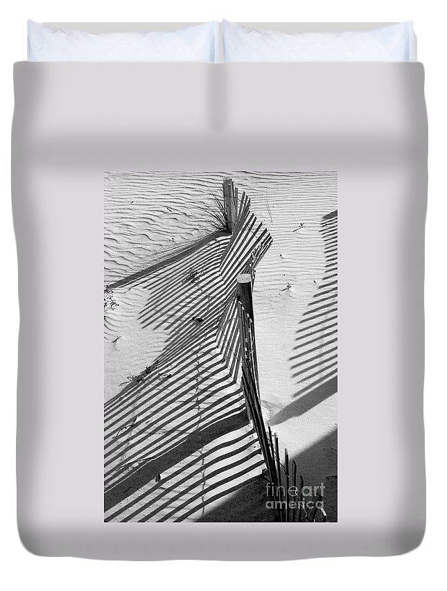 Beach Duvet Cover featuring the photograph Sand And Sun by Robert Meanor