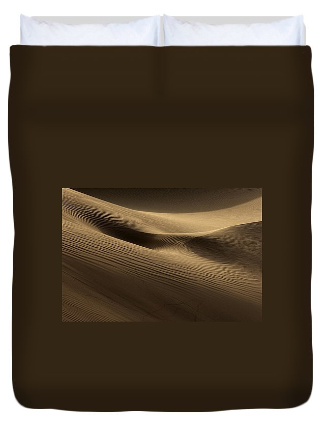 Dunes Duvet Cover featuring the photograph Sand Dune by Phil Crean