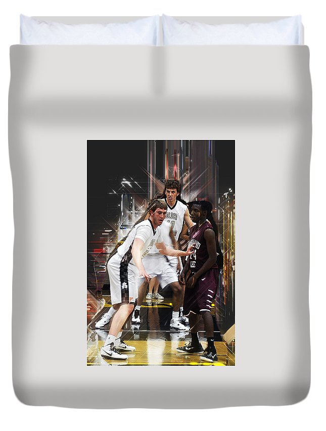 Texas Duvet Cover featuring the photograph Dee Fence by Ronnie Gilbert