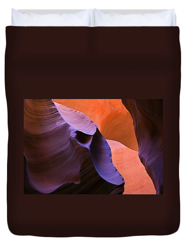 Sandstone Duvet Cover featuring the photograph Sandstone Apparition by Mike Dawson
