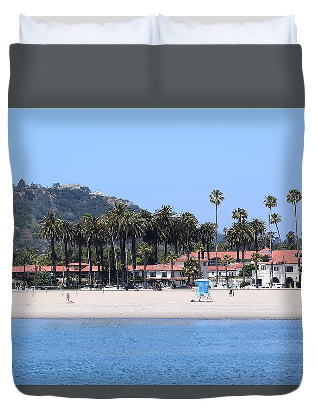 Santa Barbara Duvet Cover featuring the photograph Santa Barbara by Randal Higby
