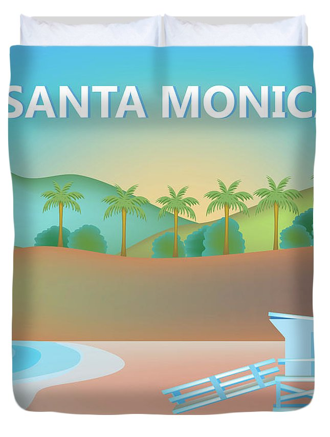 Santa Monica Duvet Covers