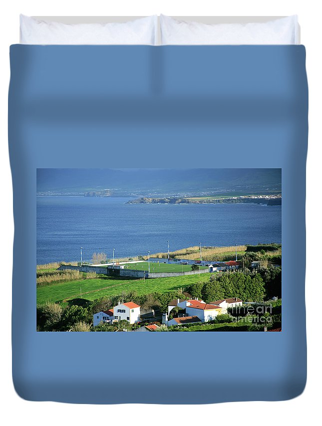 Island Duvet Cover featuring the photograph Sao Miguel Island - Azores by Gaspar Avila