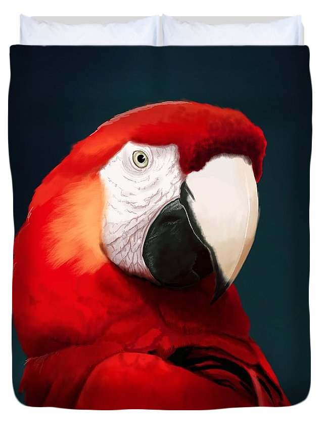 Macaw Duvet Covers