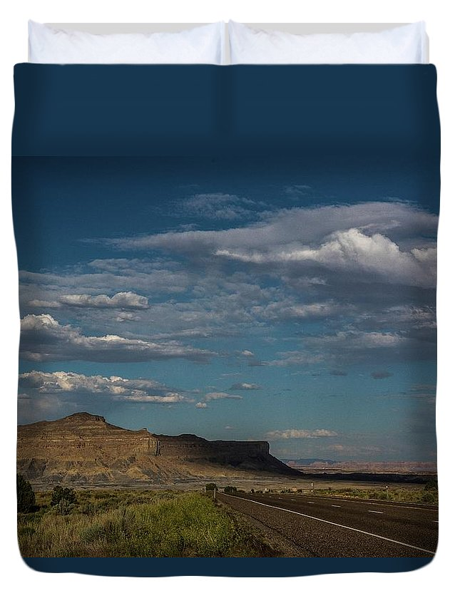 Arizona Duvet Cover featuring the photograph Scenic Highways Of Arizona by Bob Cuthbert