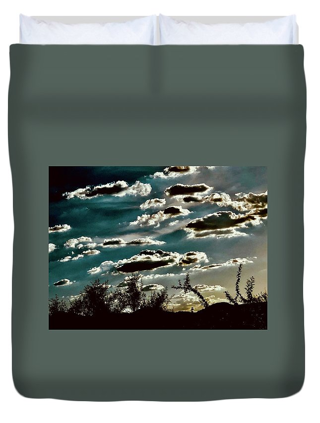 Duvet Cover featuring the photograph Scented By Day Dreams by Joy Elizabeth