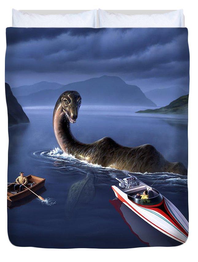Loch Ness Monster Duvet Covers