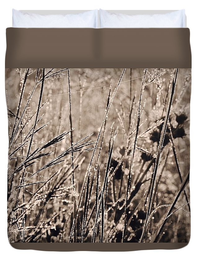Tiwago Duvet Cover featuring the photograph Scratch Marks by Photography by Tiwago