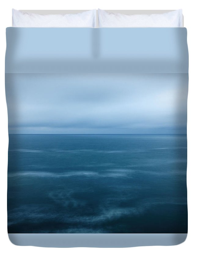 2015 Duvet Cover featuring the photograph Sea More by Andrew Proudlove