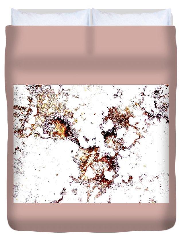 Point Lobos Duvet Cover featuring the photograph Sea Salt by Scott L Holtslander