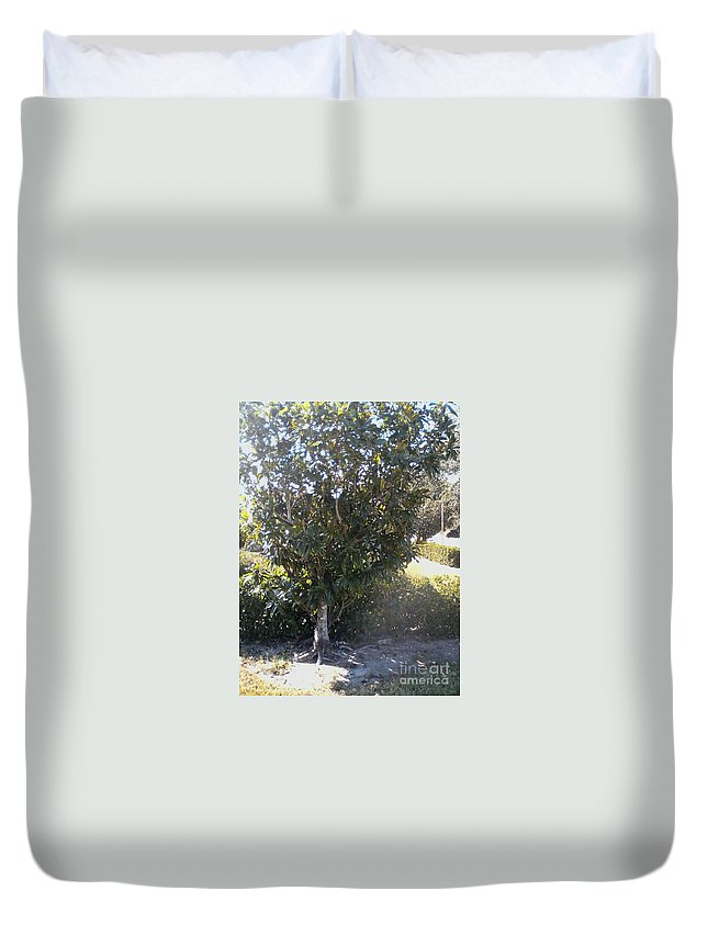 Duvet Cover featuring the painting See Psl by Dutch MARCHING