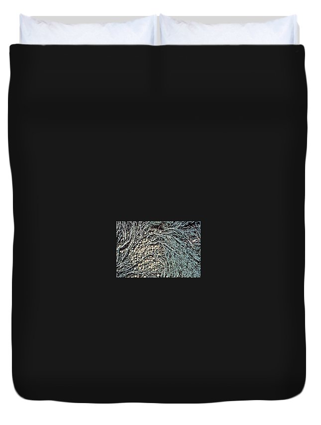 Seeds Duvet Cover featuring the photograph Seeds Of The Sea by Laurie Paci