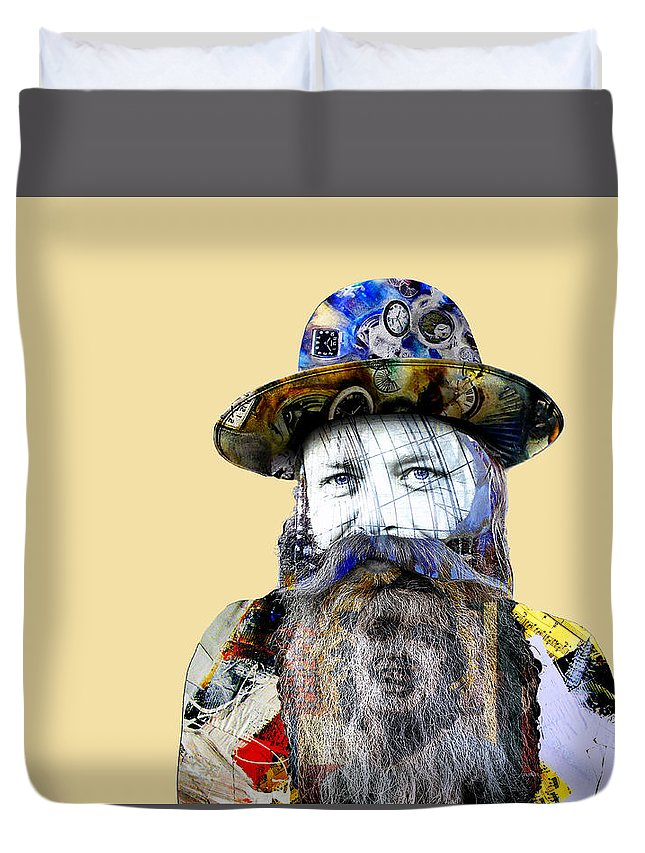 Pop Art Duvet Cover featuring the photograph Semper Memento by Dominic Piperata