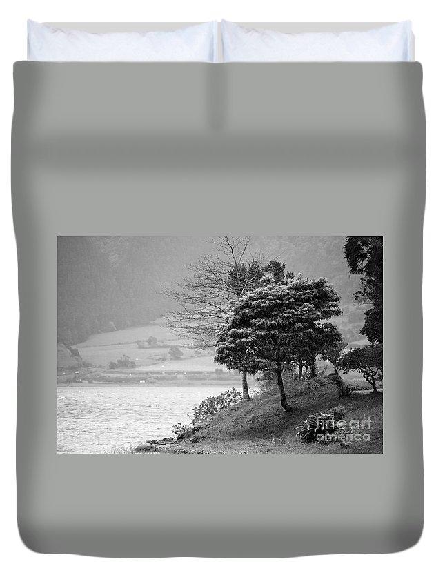 Azoren Duvet Cover featuring the photograph Sete Cidades Lakes by Gaspar Avila