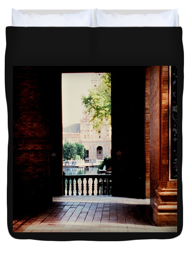 Seville Duvet Cover featuring the photograph Seville by Ian MacDonald