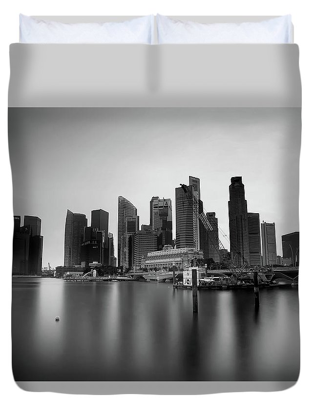 Duvet Cover featuring the photograph SG by 777aan